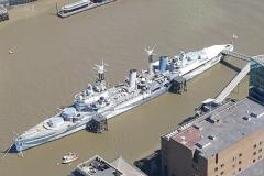 HMS Belfast 2017