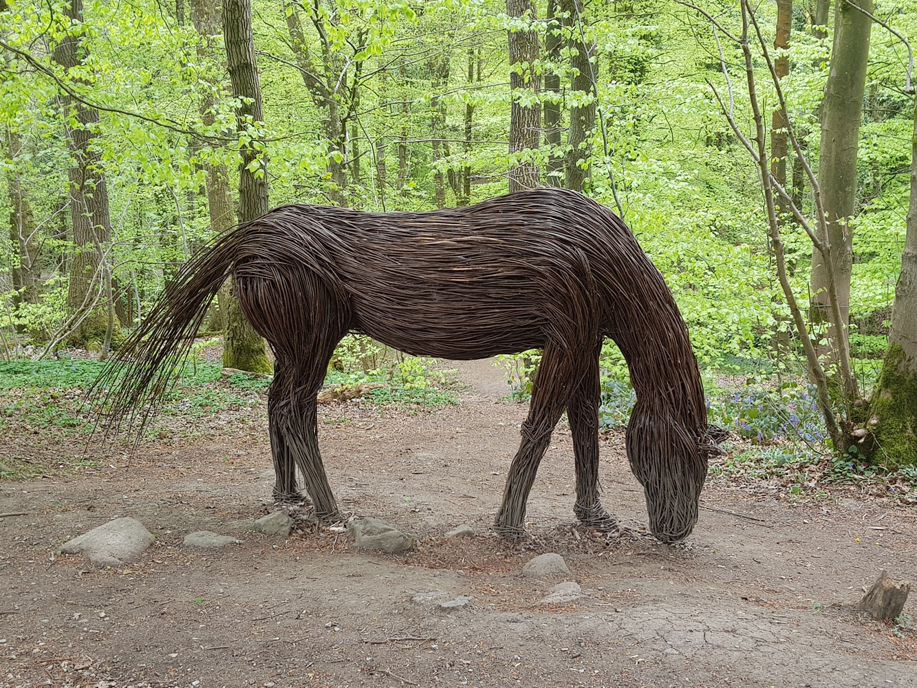 Wicker Horse
