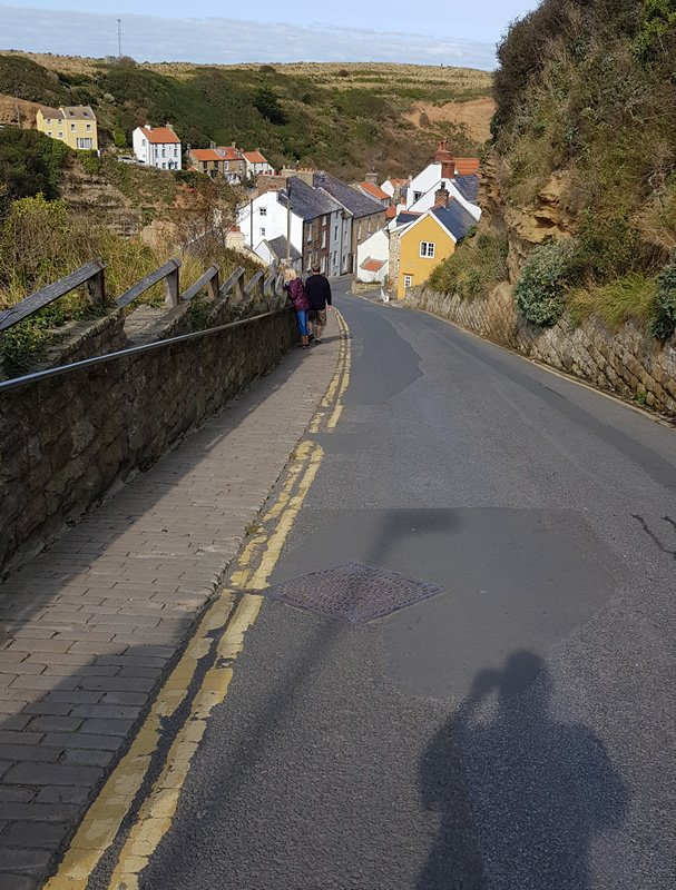 Descent into Staithes